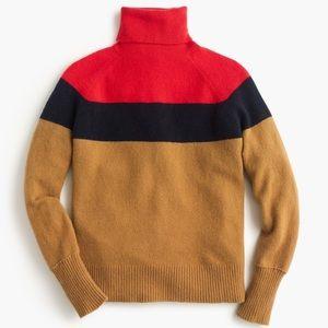 J Crew Colorblock Sweater